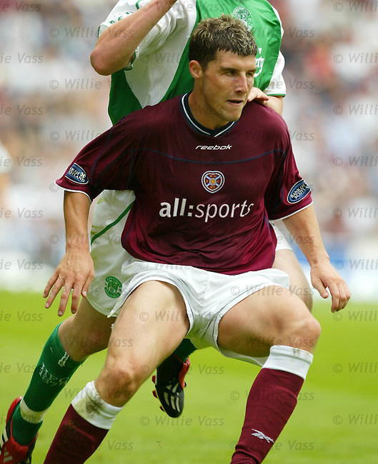 Austin McCann, Hearts.stock season 2003-04..pic willie vass