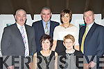 Enjoying the East Kerry GAA All Star awards in the Gleneagle hotel on Saturday night was front l-r: Chris Crowley Gneeveguilla, Kathleen O'Sullivan Legion. Back row: Sean O'Sullivan Legion, Sean Ryan Rathmore, Patricia Ryan Rathmore, and Stephen Crowley Gneeveguilla..
