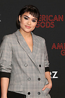 """LOS ANGELES - MAR 5:  Devery Jacobs at the """"American Gods"""" Season 2 Premiere at the Theatre at Ace Hotel on March 5, 2019 in Los Angeles, CA"""