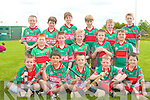 COMPETING: The Crotta O'Neill U10's hurling team competing in the hurling blitz at Abbeydorney on Saturday front l-r: Darragh O'Donoghue, Damian Larkin, Adam O'Sullivan, Sean Galvin and Dominck Nolan. Centre l-r: Alex Lawlor, Barry Mahony, Brian O'Connell, Aaron Muranne and Eamon Rohan. Back l-r: Adam Mulivhill, Padraig Hunt, Donal Hunt, John Quilter, Padraic Shannan and Jack McKenna.