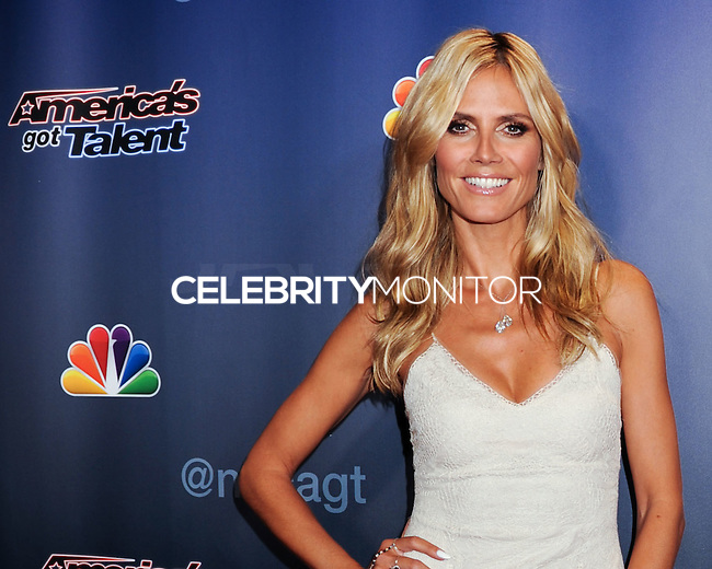 NEW YORK CITY, NY, USA - JULY 30: Model Heidi Klum arrives at the 'America's Got Talent' Season 9 Post Show Red Carpet Event held at Radio City Music Hall on July 30, 2014 in New York City, New York, United States. (Photo by Celebrity Monitor)