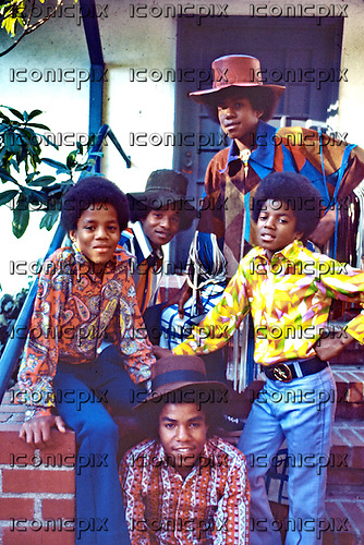 The Jackson Five - at home in Encino, CA USA - February, 1971 Photo by: George Rodriguez/Cache/Dalle/IconicPix ** UK ONLY **