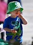 Landon Vlach, 2, participates in the 5th annual Veterans Suicide Awareness March, hosted by the Western Nevada College Veterans Resource Center, in Carson City, Nev., on Saturday, May 4, 2019. <br /> Photo by Cathleen Allison/Nevada Momentum