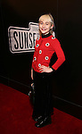 Sophia Anne Caruso attend the Broadway Opening Night of Sunset Boulevard' at the Palace Theatre Theatre on February 9, 2017 in New York City.