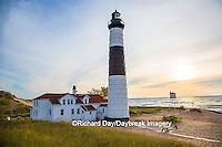 64795-00916 Big Sable Point Lighthouse on Lake Michigan, Mason County, Ludington, MI