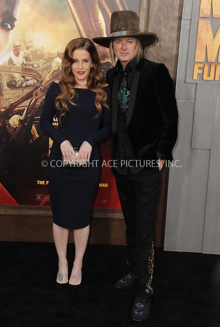 WWW.ACEPIXS.COM<br /> <br /> May 7 2015, LA<br /> <br /> Lisa Marie Presley arriving at the premiere  'Mad Max: Fury Road' at the TCL Chinese Theatre on May 7, 2015 in Hollywood, California. <br /> <br /> By Line: Peter West/ACE Pictures<br /> <br /> <br /> ACE Pictures, Inc.<br /> tel: 646 769 0430<br /> Email: info@acepixs.com<br /> www.acepixs.com