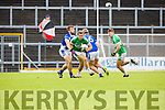 Podge O'Connor Legion is tracked by Danny O'Sullivan KOR during their SFC clash in Fitzgerald Stadium on Sunday