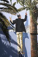France/06/Alpes Maritimes/Nice: Promenade des anglais - trompe-l'oeil