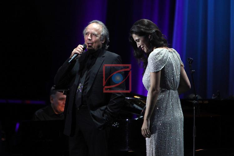 Concert contra l'Alzheimer.<br /> Joan Manuel Serrat &amp; Silvia Perez Cruz.