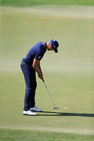 Henrik Stenson (SWE) on the 14th tee during the 1st round of the DP World Tour Championship, Jumeirah Golf Estates, Dubai, United Arab Emirates. 15/11/2018<br /> Picture: Golffile | Fran Caffrey<br /> <br /> <br /> All photo usage must carry mandatory copyright credit (&copy; Golffile | Fran Caffrey)