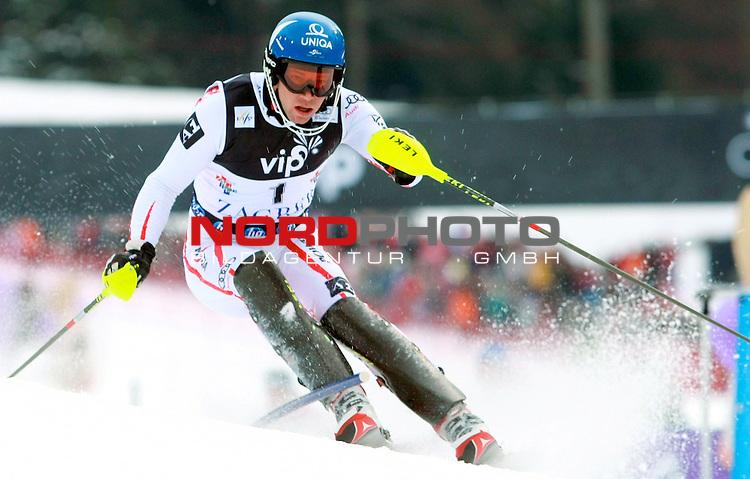 06.01.2011., Sljeme, Zagreb, Hrvatska - <br /> Prva slalom voznja muske utrke Snow Queen Trophy za FIS svjetski kup. <br /> Benjamin Raich<br />                                                                                                   Foto:   nph / PIXSELL