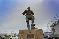The statue of George Hardwick outside of the stadium prior to the Sky Bet Championship match between Middlesbrough and Swansea City at the Riverside Stadium, Middlesbrough, England, UK. Saturday 22 September 2018