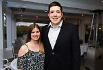 WATERBURY,  CT-050719JS17- Katelyn Gullo and Jason Guerrera at  the Waterbury Youth Services Grill & Chill event held at the Country Club of Waterbury. Waterbury Youth Services are celebrating 43 years of helping area youth. <br /> Jim Shannon Republican American