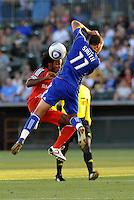Julian de Guzman, Ryan Smith...Kansas City Wizards defeated Toronto FC 1-0 at Community America Ballpark, Kansas City, Kansas.