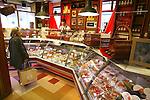 PARIS - FRANCE - 15 APRIL 2004--The meat department at the fine food shop Hediard at Place de la Madeleine.-- PHOTO: ERIK LUNTANG / EUP-IMAGES