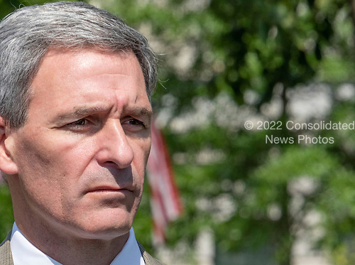 Acting Director of the United States Citizenship and Immigration Services Ken Cuccinelli meets reporters on the North Driveway of the White House in Washington, DC on Wednesday, July 10, 2019.<br /> Credit: Ron Sachs / CNP