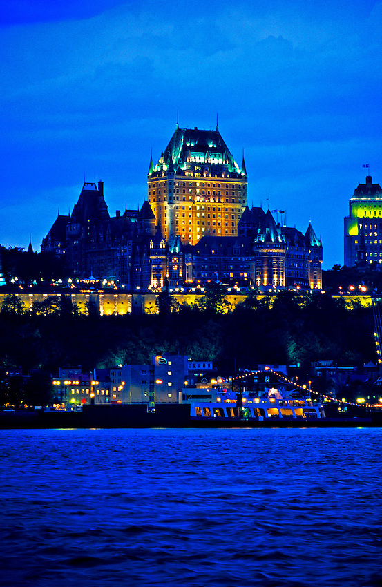 Quebec City from the St. Lawerence River, Quebec, Canada