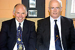 Photograghed at Miltown Secondary School 50th anniversary were Eammon Fitzgerald and Br Walter Herlihy.<br /> Photograph Sally MacMonagle.