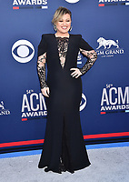 LAS VEGAS, CA - APRIL 07: Kelly Clarkson attends the 54th Academy Of Country Music Awards at MGM Grand Hotel &amp; Casino on April 07, 2019 in Las Vegas, Nevada.<br /> CAP/ROT/TM<br /> &copy;TM/ROT/Capital Pictures