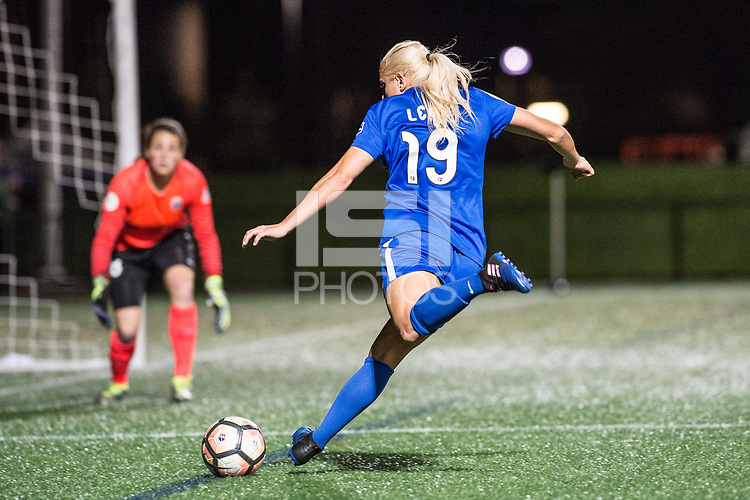 Boston, MA - Saturday April 29, 2017: Adriana Leon during a regular season National Women's Soccer League (NWSL) match between the Boston Breakers and Seattle Reign FC at Jordan Field.