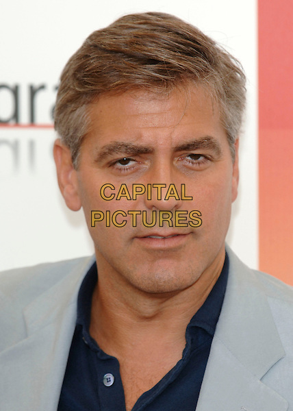 "GEORGE CLOONEY.62nd International Film Festival,.At photocall for ""Good Night, And Good Luck"".Venice, 1st September 2005.portrait headshot La Bienale .Ref: PL.www.capitalpictures.com.sales@capitalpictures.com.©Capital Pictures."