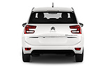 Straight rear view of a 2018 Citroen Grand C4 Spacetourer Feel 5 Door MPV stock images
