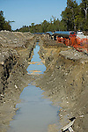 42&quot; International Natural gas pipeline under construction between Alberta, Canada and Easterrn USA<br />
