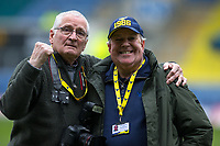 Oxford United club photographers Tony Bailey & Steve Daniels during the Sky Bet League 1 match between Oxford United and Oldham Athletic at the Kassam Stadium, Oxford, England on 7 April 2018. Photo by Andy Rowland.