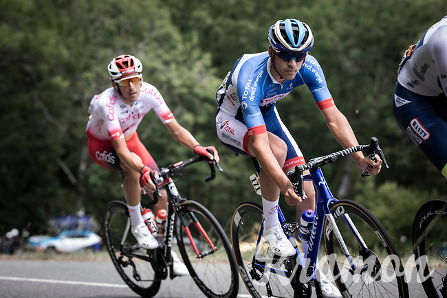 Lilian Calmejane (FRA/Total - Direct Energie) is part of the <br /> <br /> Stage 11: Albi to Toulouse (167km)<br /> 106th Tour de France 2019 (2.UWT)<br /> <br /> ©kramon