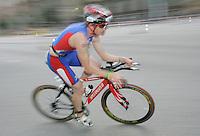 01 JUL 2007 - COPENHAGEN, DEN - Anthony Gritton - winner in the Mens 18-19 age group - European Age Group Triathlon Championships. (PHOTO (C) NIGEL FARROW)