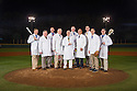 Duke Sports Medicine Team at Jack Coombs Field. For Go Duke ad, Spring team sports doctors.