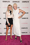 WEST HOLLYWOOD, CA - OCTOBER 12: Dancer Julianne Hough (L) and Cosmopolitan Editor-in-Chief Joanna Coles arrive at Cosmopolitan Magazine's 50th Birthday Celebration at Ysabel on October 12, 2015 in West Hollywood, California.