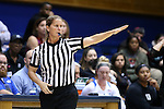 17 November 2016: Official Metta Roberts. The Duke University Blue Devils hosted the Grand Canyon University Antelopes at Cameron Indoor Stadium in Durham, North Carolina in a 2016-17 NCAA Division I Women's Basketball game. Duke won the game 90-47.