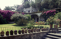 The Museo Dolores Olmedo Patino in Mexico City. This museum, the former home of art patron Dolores Olmedo, houses important works by Diego Rivera and Frida Kahlo.