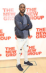 attends the cast photo call for the New Group Production on 'Downtown Race Riot' on October 23, 2017 at The New 42nd Street Studios in New York City.