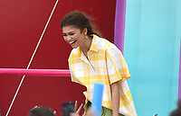 "Zendaya onstage at FOX's ""Teen Choice 2019"" at the Hermosa Beach Pier Plaza on August 11, 2019 in Hermosa Beach, California. (Photo by Frank Micelotta/Fox/PictureGroup)"