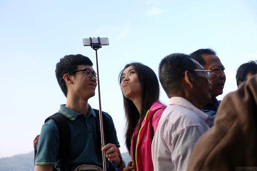 Selfie, Sun Moon Lake, Taiwan