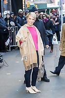 NOVA YORK, EUA, 06.02.2019 - CELEBRIDADES-EUA - Barbara Corcoran é vista na região da Times Square em Nova York após participar de um programa de televisão nesta quarta-feira, 06. (Foto: Vanessa Carvalho/Brazil Photo Press)