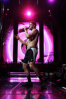 WEST PALM BEACH, FL - AUGUST 09: Imagine Dragons performs at The Coral Sky Amphitheatre on August 9, 2018 in West Palm Beach Florida. Credit: mpi04/MediaPunch