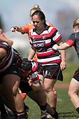 Farrah Palmer Cup rugby game between Counties Manukau Heat and Canterbury, played at Massey Park Papakura on Saturday September 23rd 2017. Canterbury won the game 32 - 29 after trailing 5 - 24 at halftime.<br /> Photo by Richard Spranger.