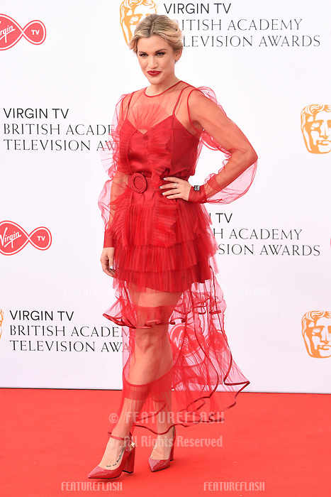 Ashley Roberts arriving for the BAFTA TV Awards 2018 at the Royal Festival Hall, London, UK. <br /> 13 May  2018<br /> Picture: Steve Vas/Featureflash/SilverHub 0208 004 5359 sales@silverhubmedia.com