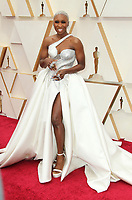 09 February 2020 - Hollywood, California - Cynthia Erivo. 92nd Annual Academy Awards presented by the Academy of Motion Picture Arts and Sciences held at Hollywood & Highland Center. Photo Credit: AdMedia