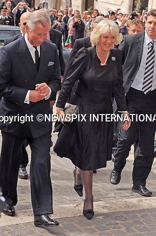 "PRINCE CHARLES and CAMILLA_Duchess of Cornwall.Visit the Chamber of Deputies on the first day of thier Royal visit to Italy_Rome_27/04/2009.Mandatory Photo Credit: ©Dias/Newspix International..**ALL FEES PAYABLE TO: ""NEWSPIX INTERNATIONAL""**..PHOTO CREDIT MANDATORY!!: NEWSPIX INTERNATIONAL(Failure to credit will incur a surcharge of 100% of reproduction fees)..IMMEDIATE CONFIRMATION OF USAGE REQUIRED:.Newspix International, 31 Chinnery Hill, Bishop's Stortford, ENGLAND CM23 3PS.Tel:+441279 324672  ; Fax: +441279656877.Mobile:  0777568 1153.e-mail: info@newspixinternational.co.uk"