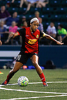 Rochester, NY - Saturday July 23, 2016: Western New York Flash forward Jessica McDonald (14) during a regular season National Women's Soccer League (NWSL) match between the Western New York Flash and FC Kansas City at Rochester Rhinos Stadium.