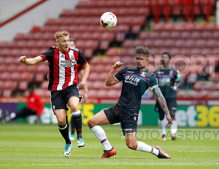 Harvey Gilmour of Sheffield Utd during the Professional Development U23 match at Bramall Lane, Sheffield. Picture date 4th September 2017. Picture credit should read: Simon Bellis/Sportimage