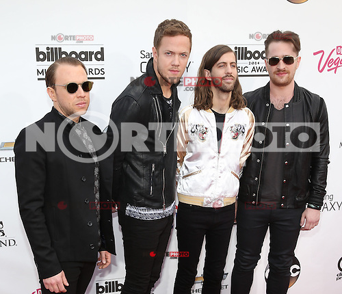 LAS VEGAS, NV - May 18 : Imagine Dragons pictured at 2014 Billboard Music Awards at MGM Grand in Las Vegas, NV on May 18, 2014. ©EK/Starlitepics
