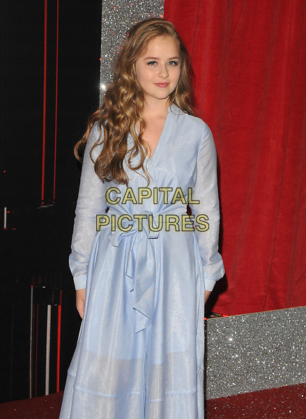 Isobel Steele at the British Soap Awards 2017, The Lowry Theatre, Pier 8, Salford Quays, Salford, Manchester, England, UK, on Saturday 03 June 2017.<br /> CAP/CAN<br /> &copy;CAN/Capital Pictures