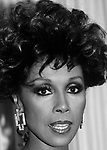 Diahann Carroll photographed at the Emmy Awards in September, 1985.