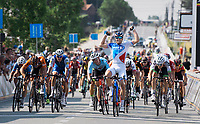 Arnaud D&eacute;mare (FRA/FDJ) wins the 70th Halle Ingooigem 2017 (1.1) in a bunch sprint<br /> <br /> 1 Day Race: Halle &gt; Ingooigem (201km)