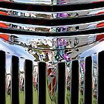 Chevrolet Grille 03 - Chevrolet custom car front grille.